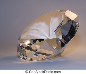 pastel colored diamond - studio photography of a pastel...