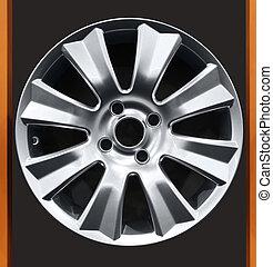 car aluminum wheel