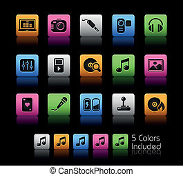 Media & Entertainment / ColorBox - The EPS file includes 5...