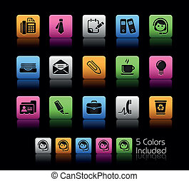 Office and Business ColorBox - The EPS file includes 5 color...