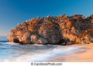 Sleeping dragon rock at the sea - Beautiful rock on the Sea...
