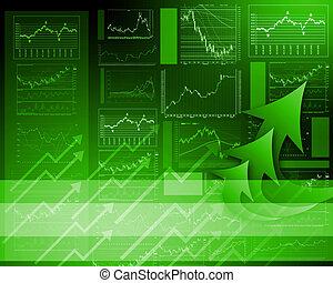 FInancial diagrams, charts and graphs