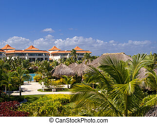 Caribbean resort - Exotic luxury resort in Punta Cana...
