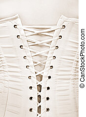 Closeup of a woman in corset - Closeup of a sexy woman in...