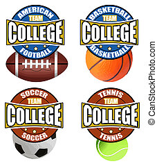 College Sport's Labels