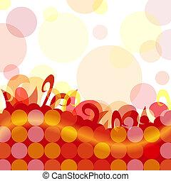 Funky dot background