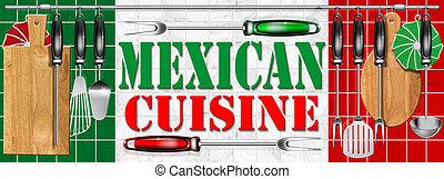 Mexican cuisine - Cocina mexicana - Concept of mexican...