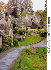 Cottages overlooking Arlington Row - A row of Cottages...