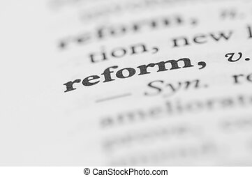Dictionary Series - Reform