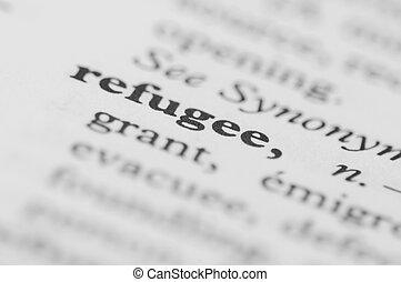 Dictionary Series - Refugee