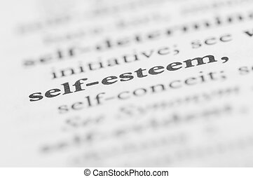 Dictionary Series - Self-esteem