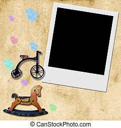 Children framework photo - children's picture frame with...