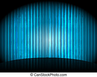vector  background with blue stripes
