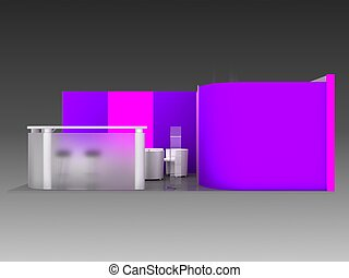 Exhibition Stand Interior / Exterior Sample