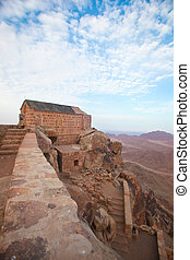 Chapel on mount sinai - Greek orthdox chapel on mount sinai...