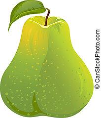 vector gfeen pear
