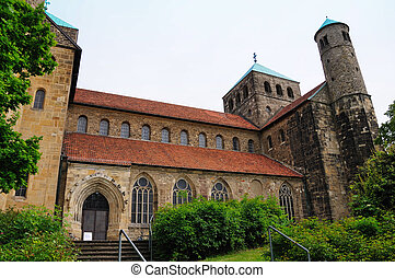 Hildesheim, Germany - St. Michael's Church in Hildesheim....