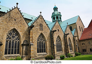 Hildesheim, Germany - St. Mary's Cathedral in Hildesheim....
