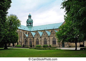 Hildesheim, Germany - St Marys Cathedral in Hildesheim One...