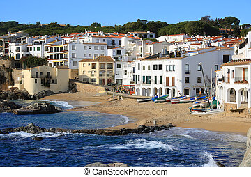 Calella de Palafrugell Costa Brava, Spain - The beautiful...