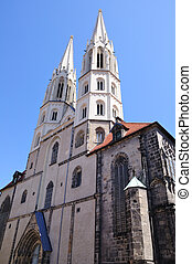 Goerlitz, Germany - St. Peter's Church in Goerlitz, Germany.