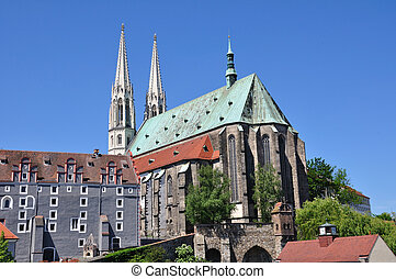 Goerlitz, Germany - St Peters Church in Goerlitz, Germany