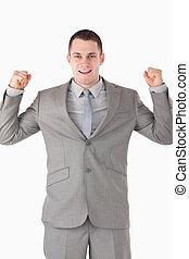 Portrait of a successful entrepreneur