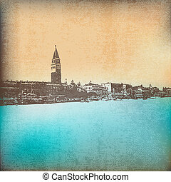 Vintage Venice - Vintage Venetian Paper Background