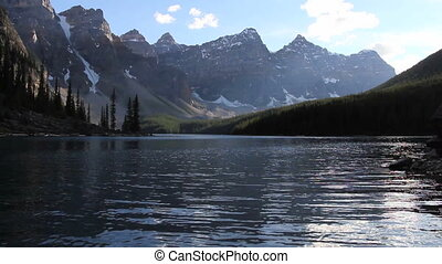Moraine Lake Banff 01 - Alpine lake in the Canadian Rockies