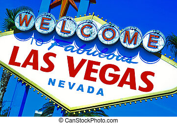 Welcome to Fabulous Las Vegas sign - A view of Welcome to...