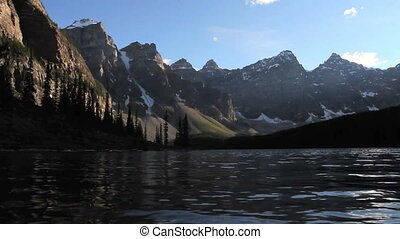 Moraine Lake Banff h 06 - Alpine lake in the Canadian...