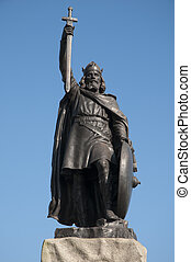 Alfred The Great - Statue of Alfred the Great