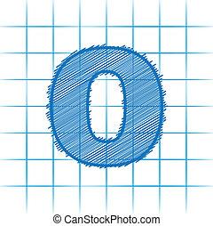 Zero number college style