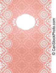 ornate frame - pink - Ornate frame - pink. Can be used for...