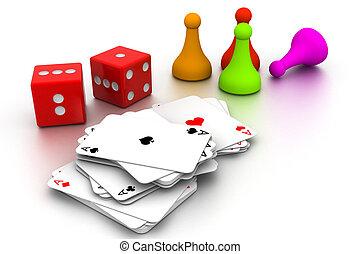Boardgame pieces
