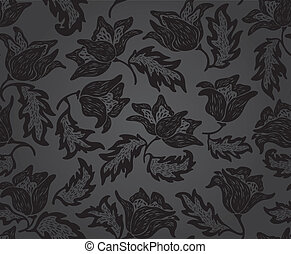 Floral pattern background pattern