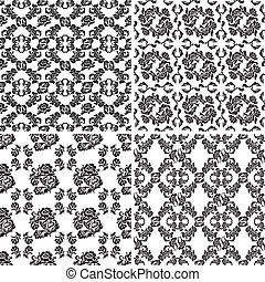 Floral pattern, seamless background