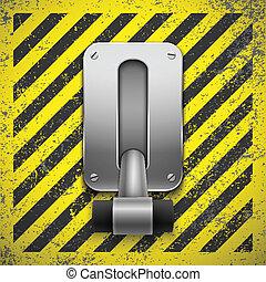 interruptor, vector, Ilustración, Eps10