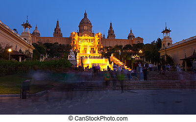 National Palace of Montjuic. Barcelona