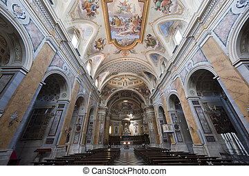 Amelia (Terni, Umbria, Italy) - Cathedral interior (all...