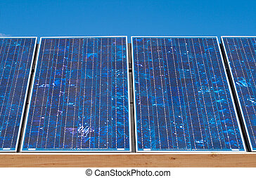 Row Polycrystalline Photovoltaic PV Solar Panels -...