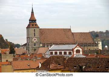 Black church in Brasov, Romania - The Black Church (romanian...