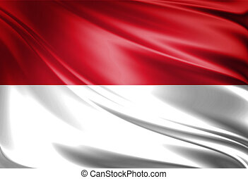 Flag of Monaco