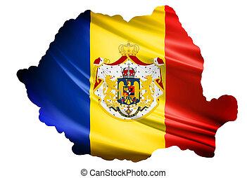 Romania Kindom Flag