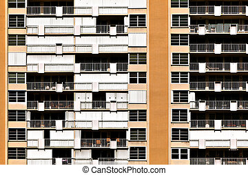 appartments pattern in KFort Lauderdale, USA