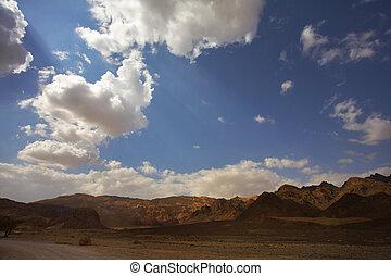 In  desert Sinai