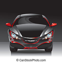 concept car - sedan - A concept vehicle or show vehicle is a...