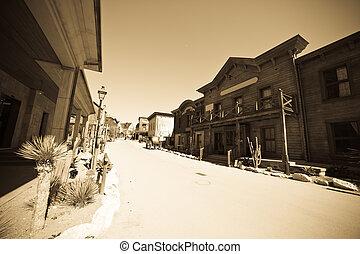 Far west town