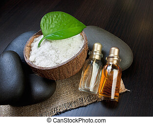 still-life subjects of relaxing spa