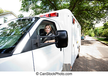 Ambulance Driver Portrait